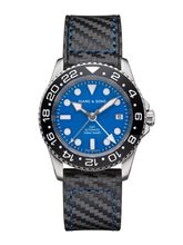 MARC & SONS Diver watch Automatic GMT ETA 2893-2 Ref.: MSG-007--4-LS-C3
