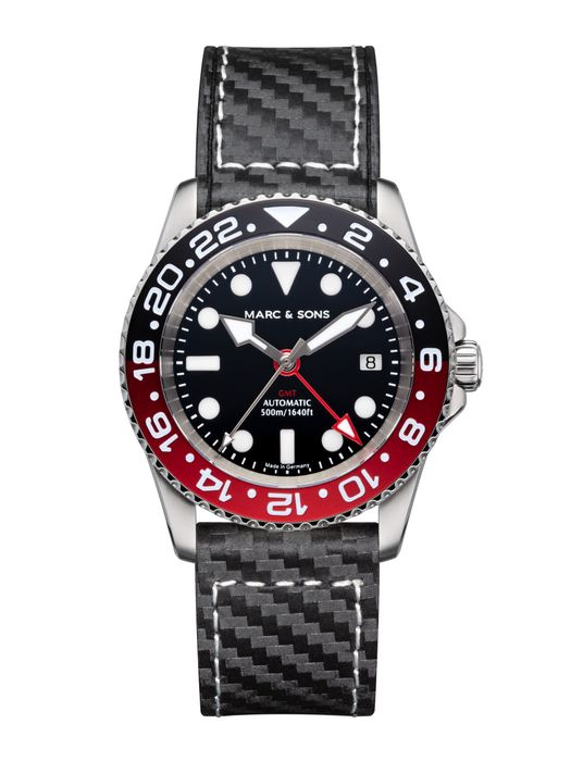 MARC & SONS Diver watch Automatic GMT ETA 2893-2 Ref.: MSG-007-5-C1