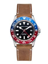 MARC & SONS Diver watch Automatic GMT ETA 2893-2 Ref.: MSG-007-7-L8