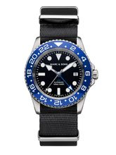 MARC & SONS Diver watch Automatic GMT ETA 2893-2 Ref.: MSG-007-1-LB-T5