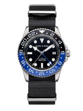 MARC & SONS Diver watch Automatic GMT ETA 2893-2 Ref.: MSG-007-1-T5