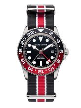 MARC & SONS Diver watch Automatic GMT ETA 2893-2 Ref.: MSG-007-5-T17