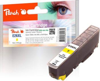 Peach E26XL Tintenpatrone kompatibel für Epson T2634 Yellow 26XL