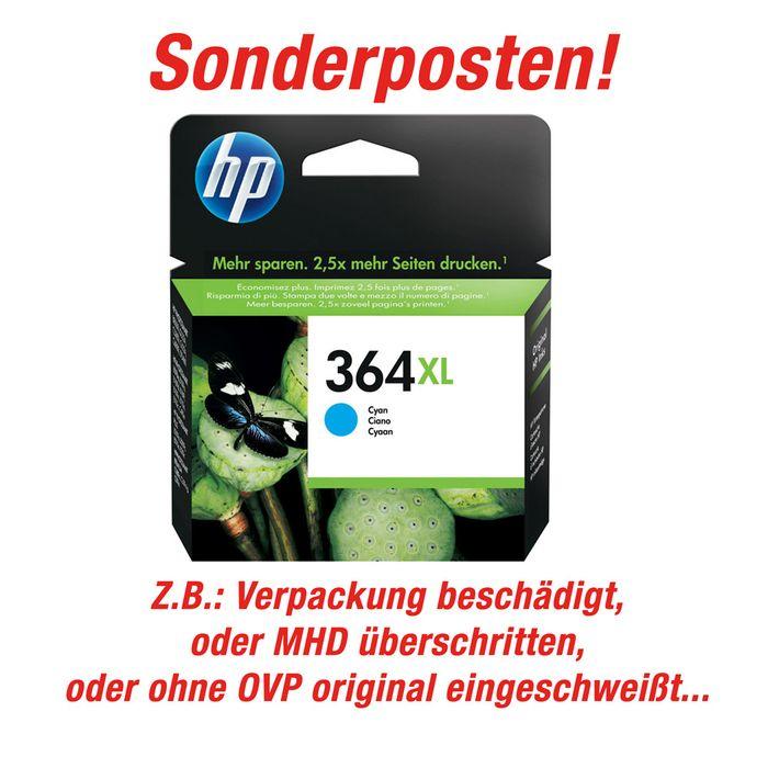 Sonderposten Original HP Tintenpatrone Nr. 364 XL cyan - CB323EE Farbpatrone – Bild 1