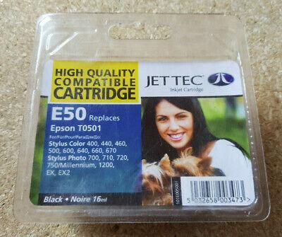 Jet Tec E50 für Epson T013/T0501 Schwarz