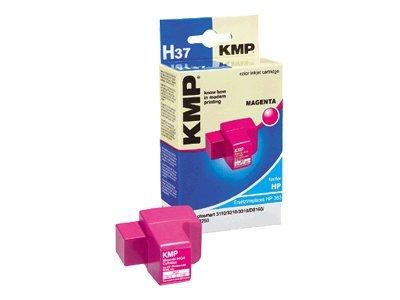 KMP H37 Druckerpatrone kompatibel zu HP 363 magenta Tintenpatrone C8772EE