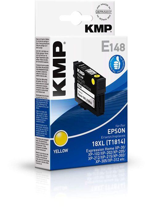 KMP E148 Yellow kompatibel für Epson 18XL / T1814