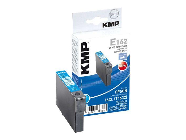 KMP E142 kompatibel Epson T16XL / T1632 Cyan