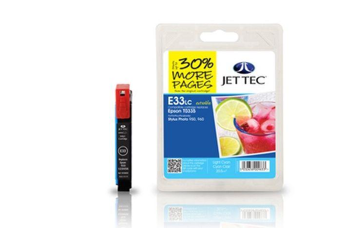 Jet Tec E85c für Epson T0332 Cyan