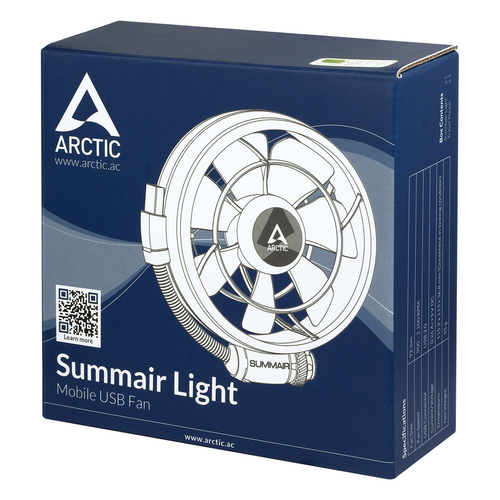 ARCTIC Summair Light mobiler USB-Ventilator - Lüfter – Bild 3