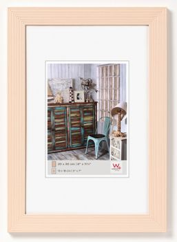 walther Holzrahmen Grado HI520C - Farbe: creme für 15x20 cm oder 10x15cm