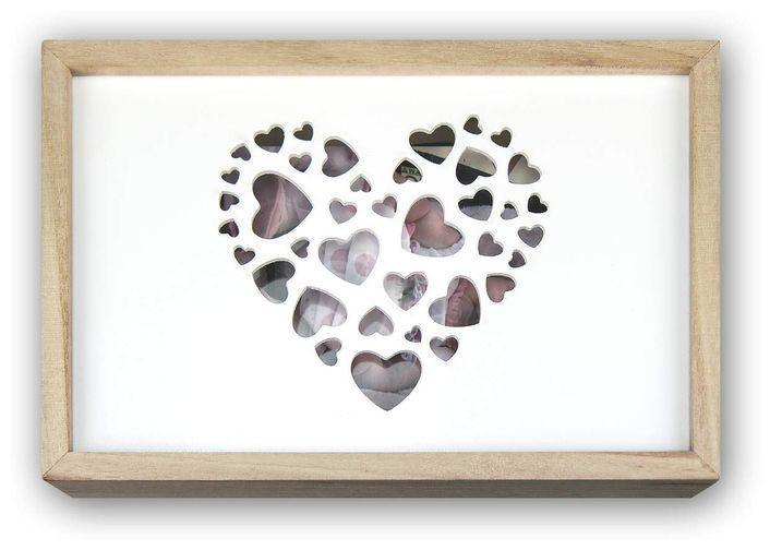 ZEP Love Box USB für 13x18 cm Bilder - Natur & Weiß