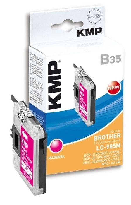 KMP B35 kompatibel Brother LC-985M Magenta