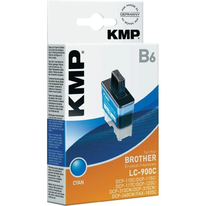 KMP B6 kompatibel Brother LC-900C Cyan
