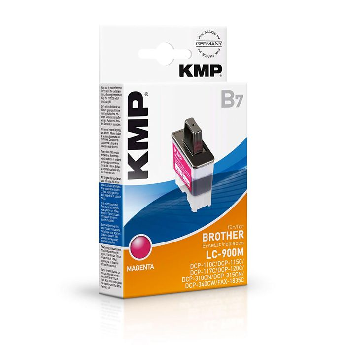 KMP B7 kompatibel Brother LC-900M Magenta