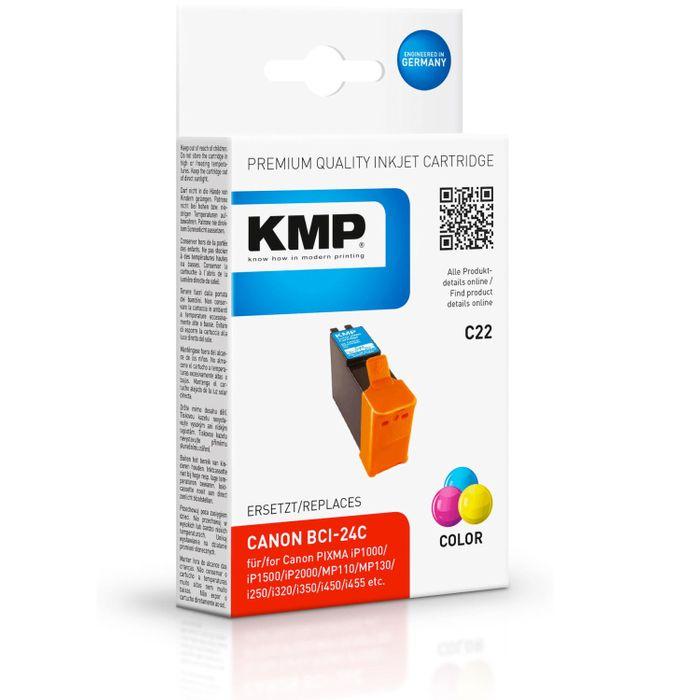 KMP C22 kompatibel Canon BCI-24C color