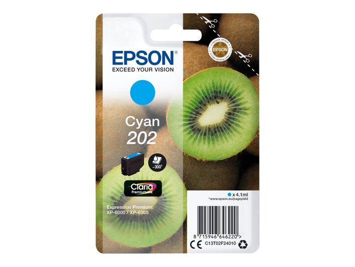 Original Epson T202 cyan