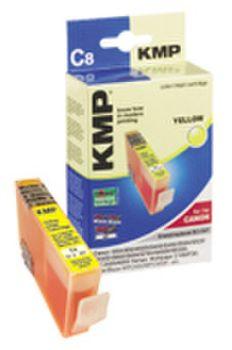 KMP C8 kompatibel Canon BCI-3eY Gelb