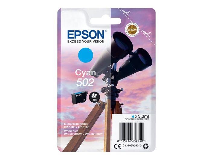 Original Epson T502 cyan
