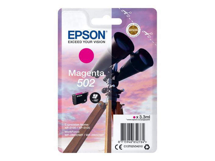 Original Epson T502 magenta