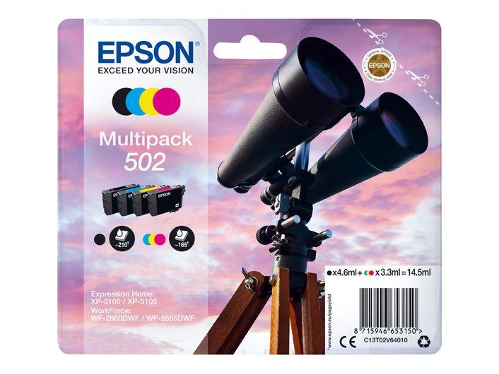 Original Epson T502 Multipack