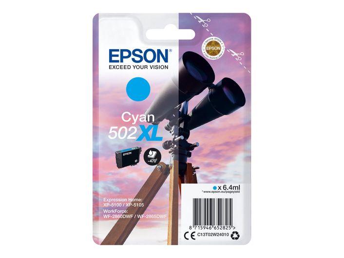 Original Epson T502 XL cyan