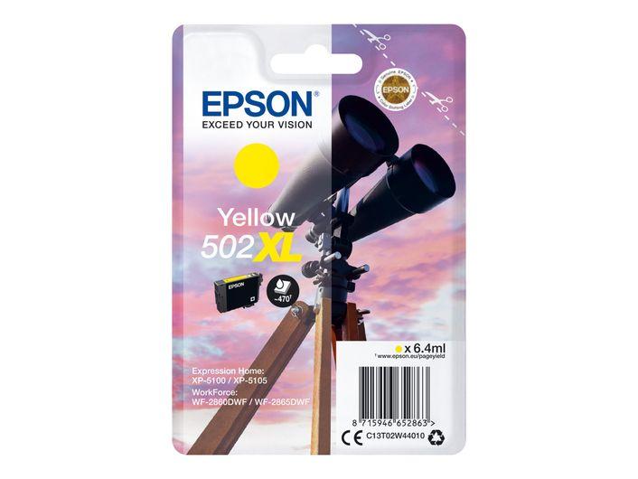 Original Epson T502 XL yellow