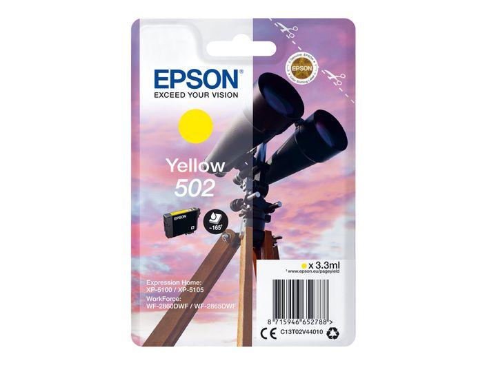 Original Epson T502 yellow