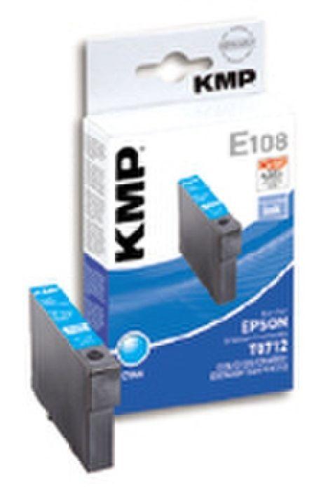 KMP E108 Patrone kompatibel Epson T071240 Cyan