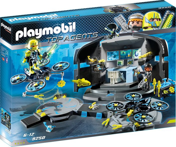 playmobil TOP AGENTS 9250 - Dr. Drone´s Command Center – Bild 1