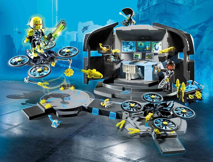 playmobil TOP AGENTS 9250 - Dr. Drone´s Command Center – Bild 2