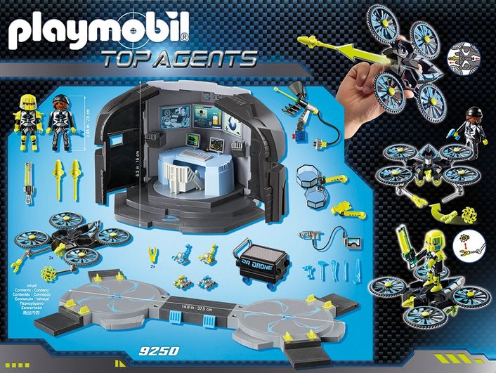 playmobil TOP AGENTS 9250 - Dr. Drone´s Command Center – Bild 3