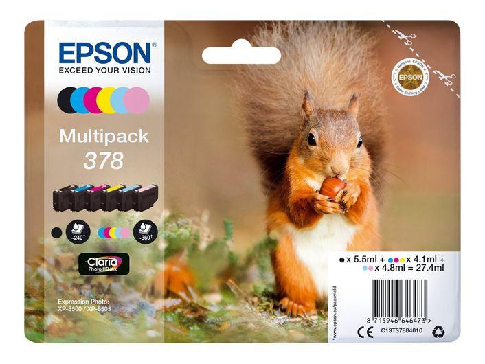 Original Epson T378 Multipack