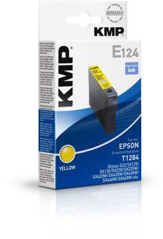 KMP E124 kompatibel Epson T1284 Gelb
