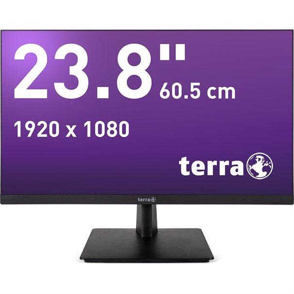 TERRA LED 2463W black DP/HDMI GREENLINE PLUS – Bild 1