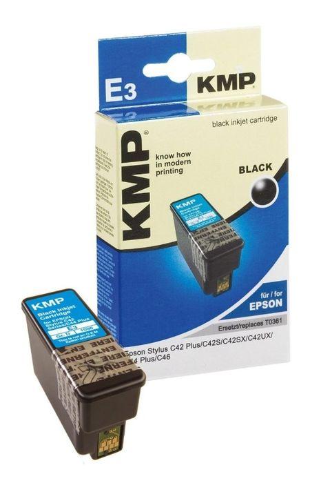 KMP E3 kompatibel Epson T036140 Schwarz