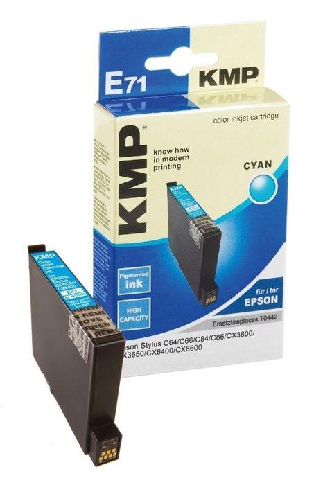 KMP E71 kompatibel Epson T044240 Cyan