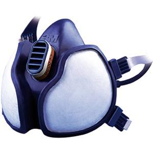 3M Halbmaske 4251 C1 blau - Schutzmaske / Mundschutz gegen organische Gase und Dämpfe
