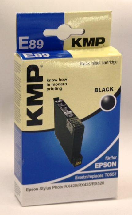 KMP E89 kompatibel Epson T055140 Schwarz