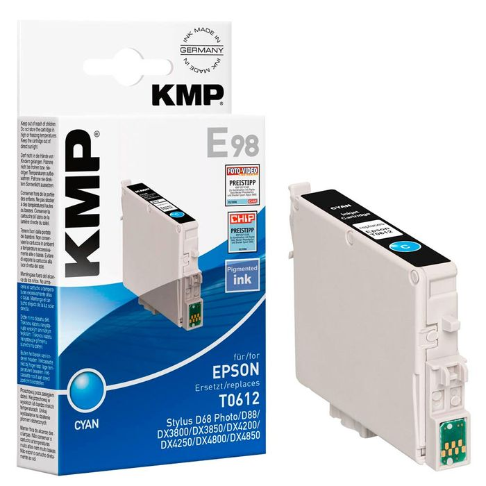 KMP E98 kompatibel Epson T061240 Cyan
