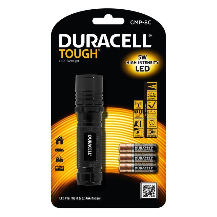 Duracell LED Taschenlampe CMP-8C