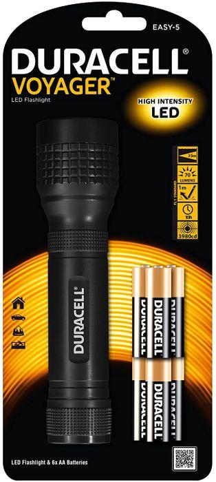 Duracell LED Taschenlampe Voyager EASY-5