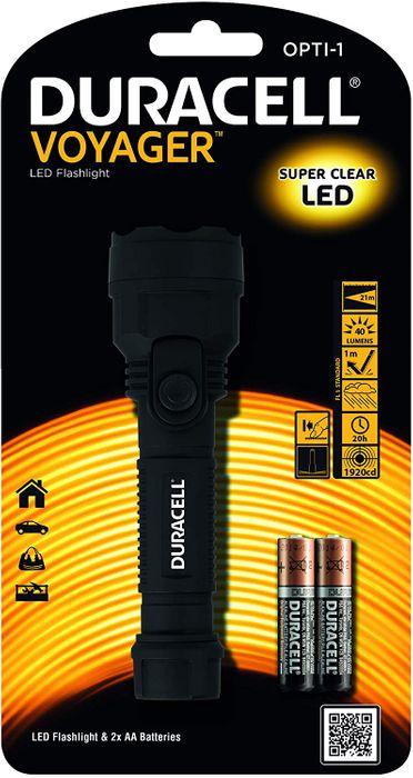Duracell LED Taschenlampe Voyager OPTI-1 – Bild 1