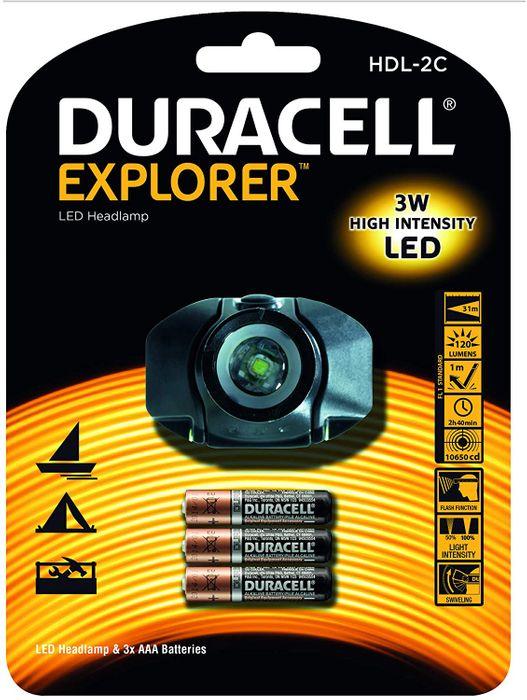 Duracell LED Stirnlampe Explorer HDL-2C – Bild 1