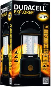Duracell LED Explorer Campinglampe Taschenlampe LNT-100 (groß)