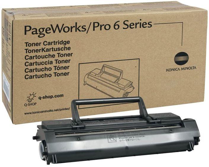 Original Konica Minolta Toner PageWorks / Pro 6 Serie black Part Number 1710433-001