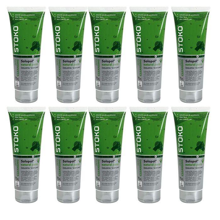 [Paket] 10er Pack SC Johnson Stoko PROFESSIONAL Handreinigung 33279 250ml - Solopol natural paste