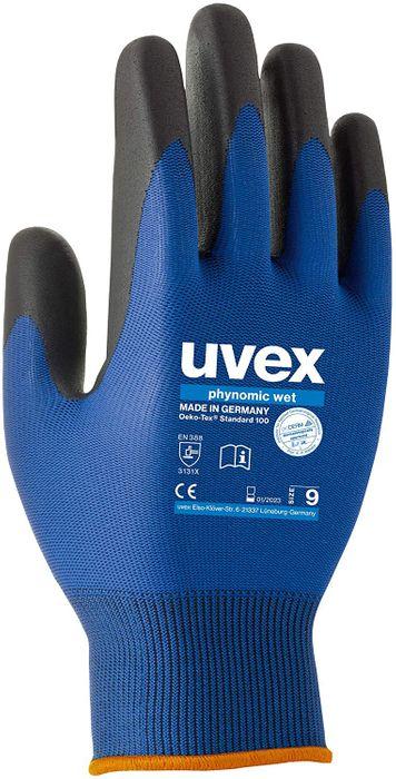 uvex Arbeitshandschuh phynomic wet - 6006008 / 6006009 / 6006010 / 6006011 Größe 8 M / 9 L / 10 XL / 11 XXL