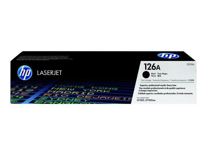 Original HP Toner CE310A 126a black