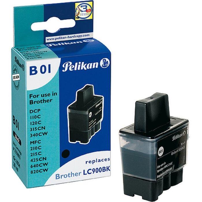 Pelikan B01 schwarz ersetzt Brother LC900BK